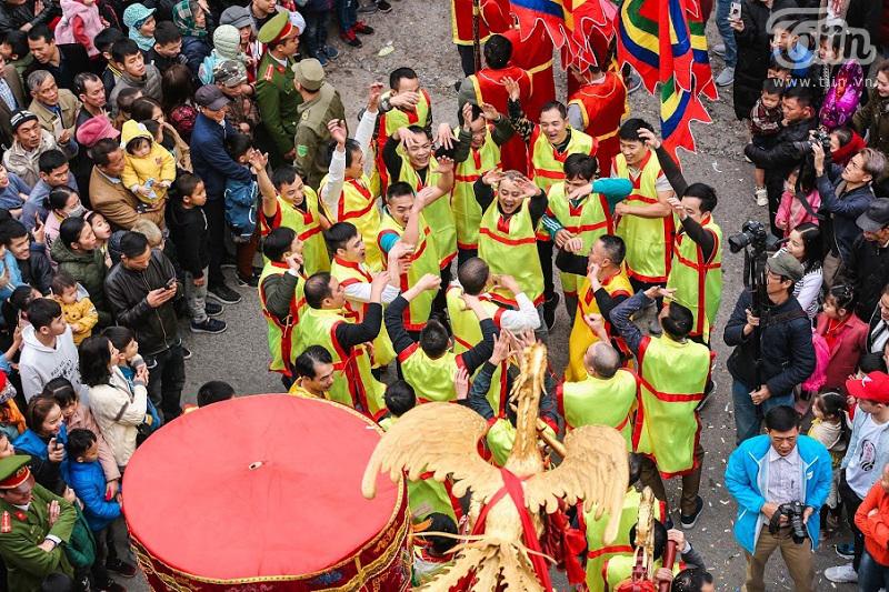 Lễ hội rước pháo truyền thống làng Đồng Kỵ (Bắc Ninh): Cầu mong một năm mới phát tài phát lộc 13