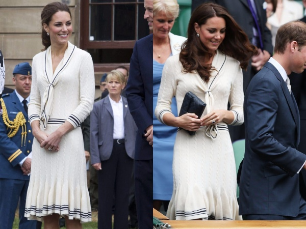 Cô đã chọn chiếc áo len Alexander McQueen sang trọng cho chuyến đi đến Canada năm 2011 và Wimbledon vào năm 2012.