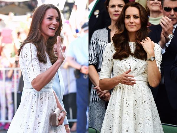Meghan Markle chi tận 11,8 tỷ cho trang phục trong khi Công nương Kate Middleton chẳng ngại mặc lại đồ cũ 23