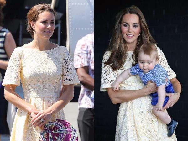 Meghan Markle chi tận 11,8 tỷ cho trang phục trong khi Công nương Kate Middleton chẳng ngại mặc lại đồ cũ 24