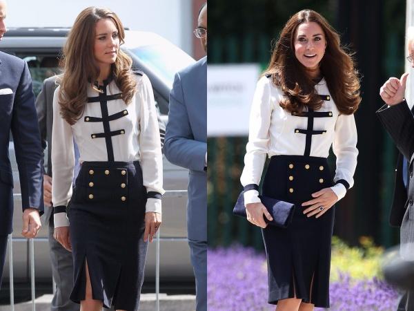 Meghan Markle chi tận 11,8 tỷ cho trang phục trong khi Công nương Kate Middleton chẳng ngại mặc lại đồ cũ 25