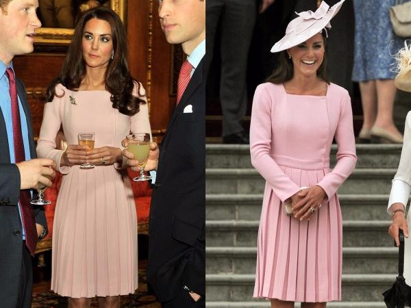 Một số lần diện lại đồ cũ khác của nữ Công tước xứ Cambridge.