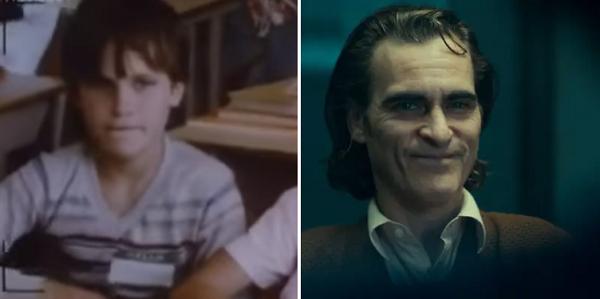Joaquin Phoenix khiến cả thế giới ngả mũ thán phục với siêu phẩm Joker trong năm qua. Màn hóa thân xuất chúng thành gã hề điên giúp Joaquin được kỳ vọng cao trở thành chủ nhân của tượng vàng năm nay. Năm 1985, Joaquin Phoenix có vai diễn đầu tiên của sự nghiệp trong bộ phim Kids Don't Tell. Có vẻ như từ bé, nam diễn viên đã là sở hữu cá tính mạnh.