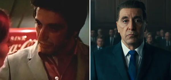 Vào năm 1969, Al Pacino nhập vai Tony trong Me, Natalie. Giờ đây, tài tử từng nổi tiếng với vai Bố già đã được đề cử Oscar cho diễn xuất trong The Irishman. Điểm trùng hợp thú vị là Al Pacino cũng góp mặt trong phim Once Upon a Time in Hollywood.