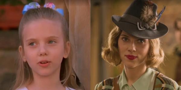 Lại là Scarlett Johansson! Không chỉ có tên ở 'bảng vàng' nữ chính, phần thể hiện duyên dáng và thu hút mọi ánh nhìn trong Jojo Rabbit đã minh chứng cho tài biến hóa khôn lường trong một năm của Scarlett Johansson và giúp cô có thêm một đề cử Oscar 2020. Đặt lên bàn cân so sánh hình ảnh đầu tiên và hiện tại mới thấy nữ minh tinh đã thay đổi khá nhiều.