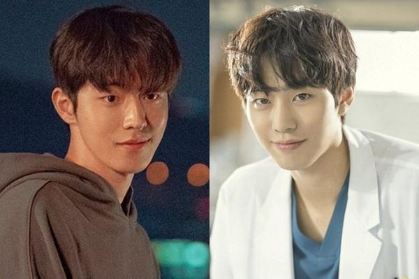 Nam Joo Hyuk (trái) và 'bác sĩ Seo Woo Jin' Ahn Hyo Seop (phải).