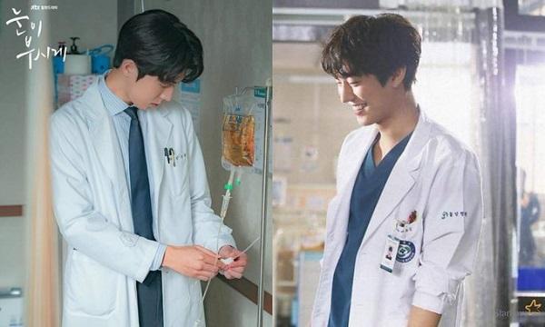 Khi 2 anh đẹp trai cùng khoác áo bác sĩ.