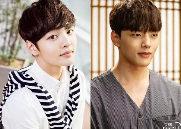 Ngoại hình nhìn 2 mà như 1 của Kim Min Jae và Yeo Jin Goo.