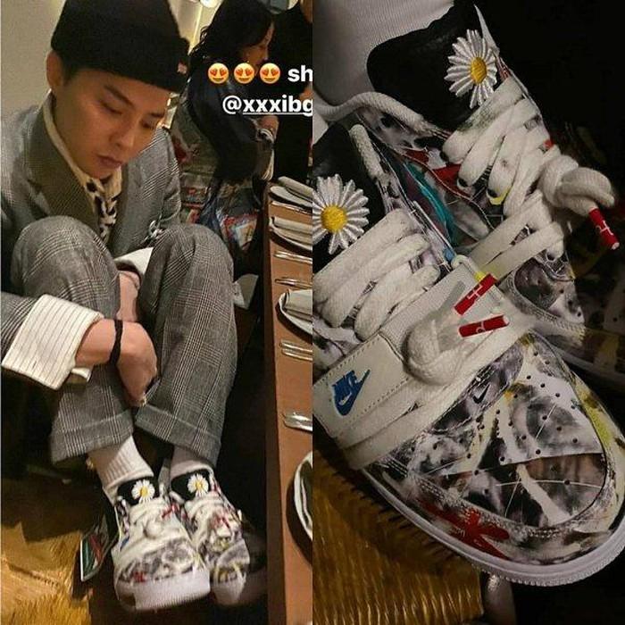 Fan của streetwear cứ phải gọi là mãn nhãn trước bức ảnh toàn những nhân vật 'máu mặt' này.'Đây là khoảnh khắc huyền thoại của giới streetwear',một netizen cho hay.