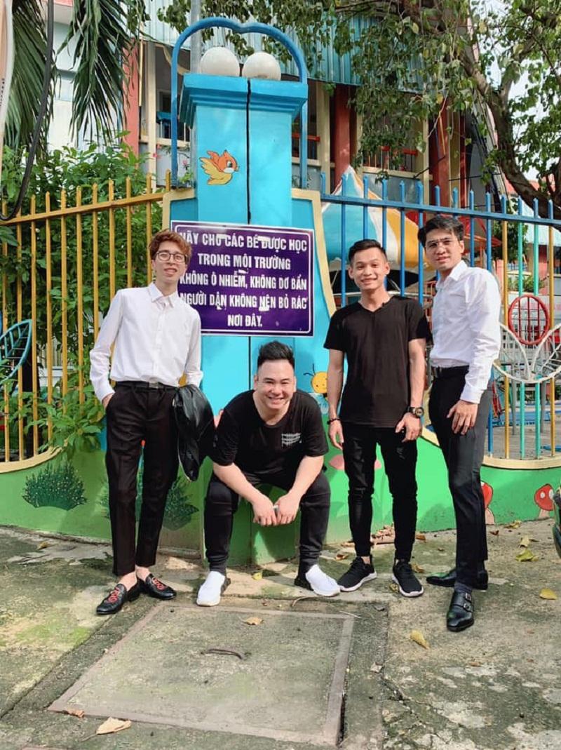 Tứ hoàng Streamer Việt Nam: ViruSs, Xemesis, Độ Mixi, Pewpew (trái qua phải)
