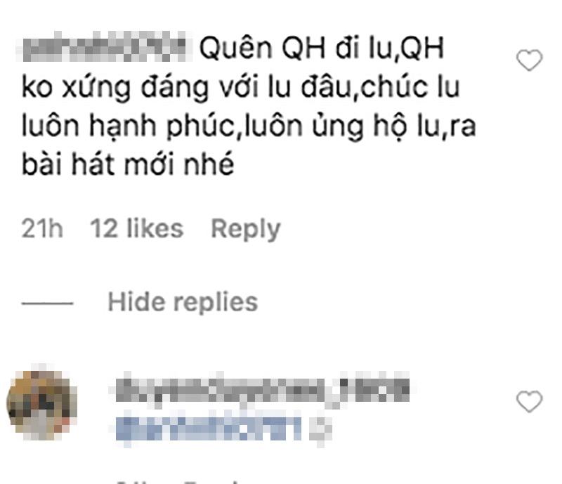Fans nghĩ rằng Nhật Lê vẫn còn thương nhớ Quang Hải.