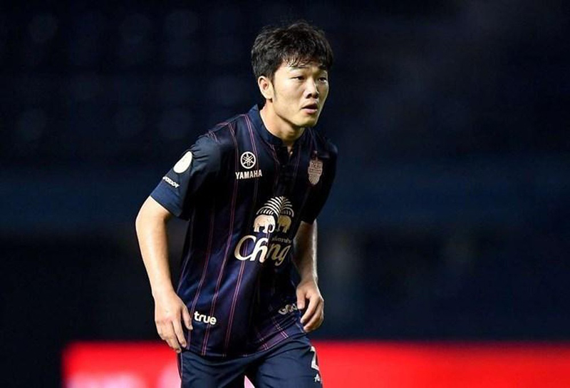 Xuân Trường từng thi đấu trong màu áo của Câu lạc bộ Buriram United với bản hợp đồng mượn 4 tháng