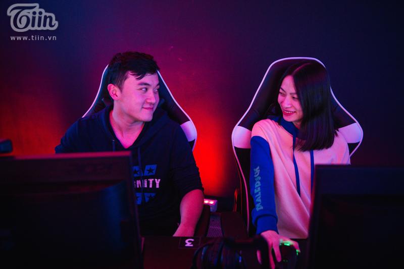 Đậu Đậu vàDAC Chi Ismylife đã yêu nhau được 5 năm và cùng đi thi đấutại Divine League mùa 2