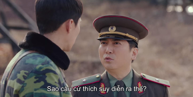 Ông cậu sĩ quan vui tính của Seo Dan.