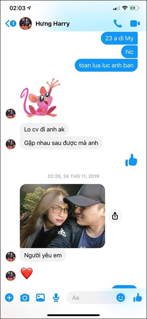 Bạn trai Nhật Lê rò rỉ tin nhắn khoe người yêu lộ liễu: Từ giờ đừng đăng status ám chỉ bị Quang Hải bỏ rơi nữa! 5