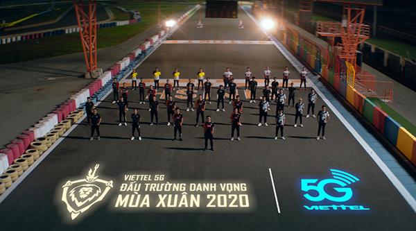 Dàn game thủ xuất hiện trong MV ca nhạc thuộc 8 đội tranh giải Đấu Trường Danh Vọng mùa xuân 2020