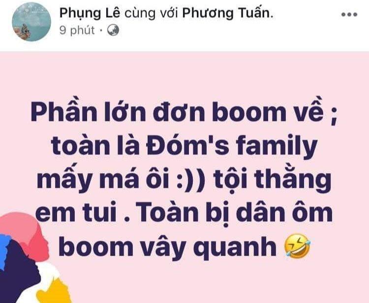 Vợ Thái Vũ lên tiếng