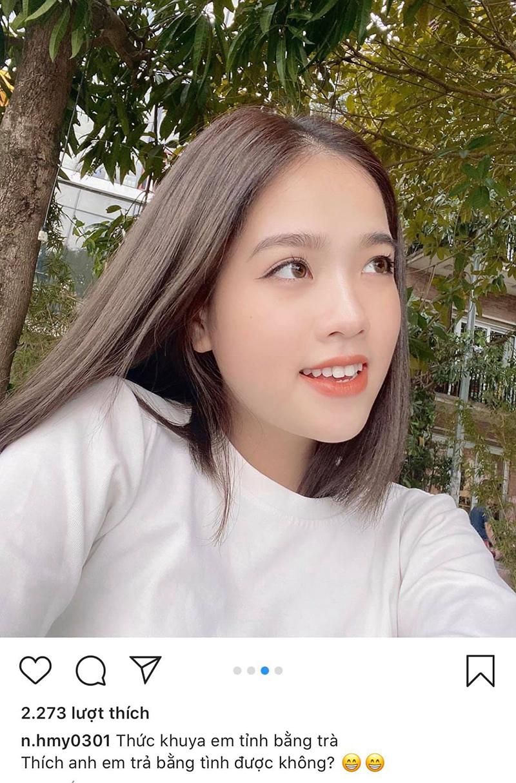 Huyền My đăng status 'thả thính', lẳng lặng xoá 'comment' dân mạng khuyên đừng tự ảo tưởng tình yêu với Quang Hải 1