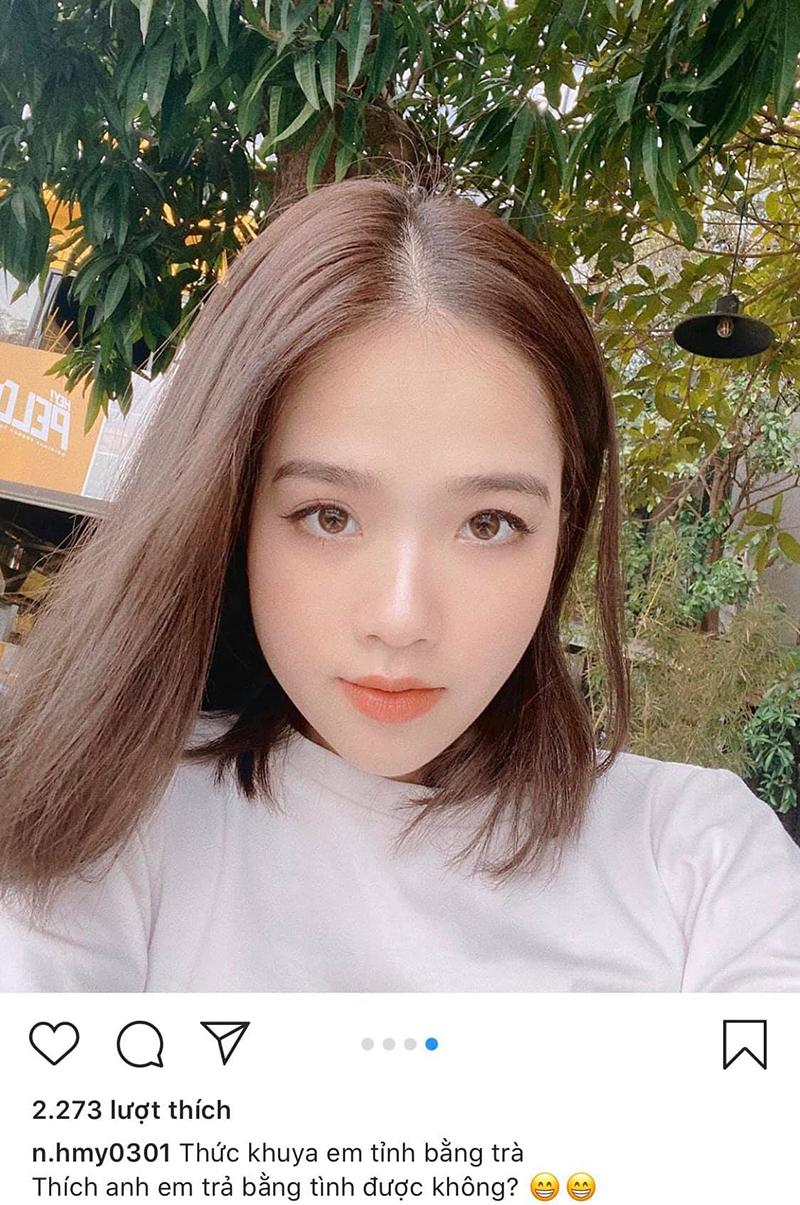 Huyền My đăng status 'thả thính', lẳng lặng xoá 'comment' dân mạng khuyên đừng tự ảo tưởng tình yêu với Quang Hải 2
