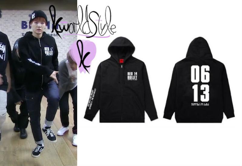 Không sai khi nói BTS toàn đại gia, chỉ là một chiếc hoodie tập nhảy của Suga đã có giá 430 USD (khoảng 9,8 triệu VNĐ).