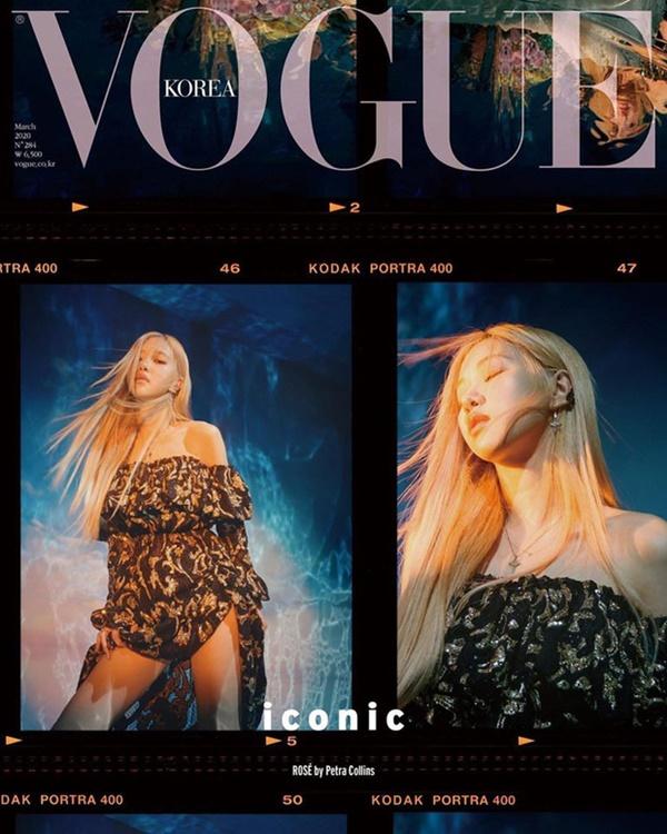 Saint Laurent nhanh chóng 'chớp lấy' Rosé và nhận được rất nhiều lợi ích từ quyết định này. Nữ Idol sinh năm 1997 giúp nhà mốtbán một số items 'đắt như tôm tươi'. Đặc biệt, trong loạt ảnh của Black Pink trên bìa Vogue Hàn Quốc, Rosé được khen tới tấp với thần thái quá đỉnh.