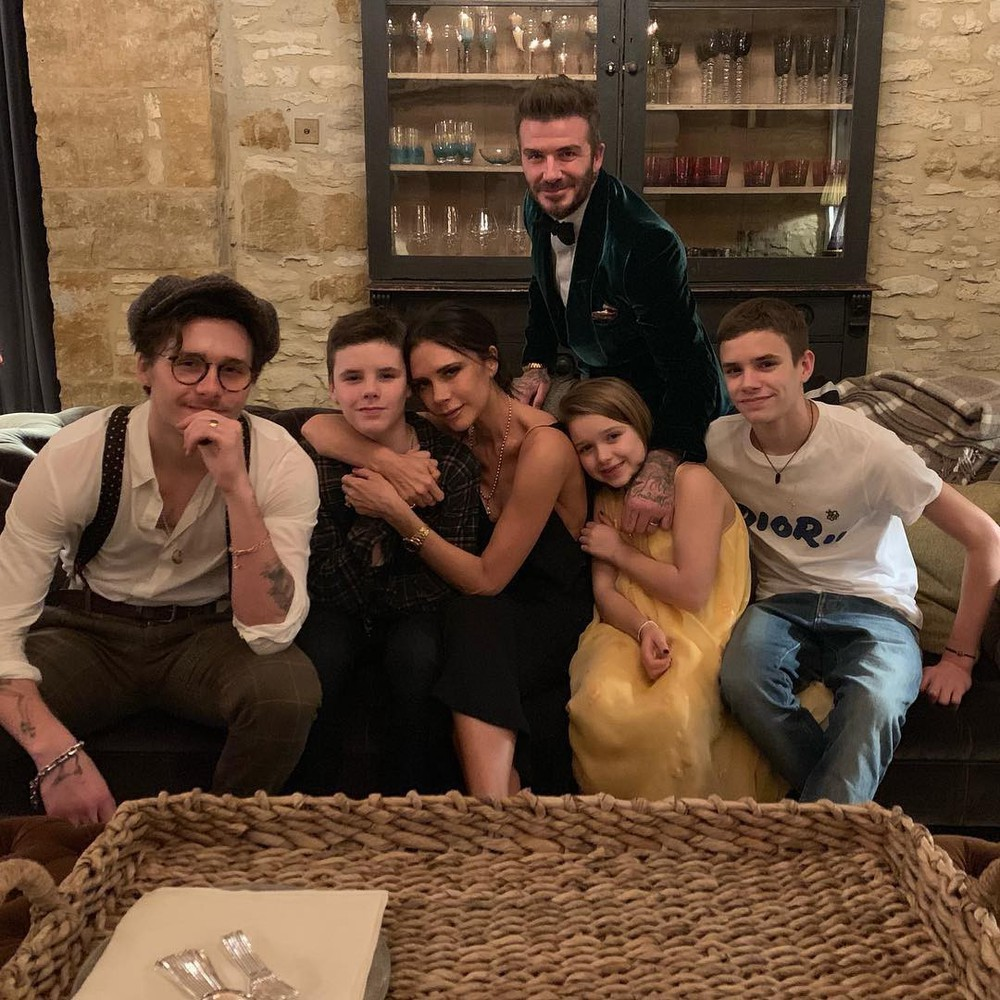 Đại gia đình nhà David Beckham và Victoria