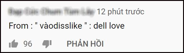 Rổ gạch đá từ antifan trong bình luận teaser
