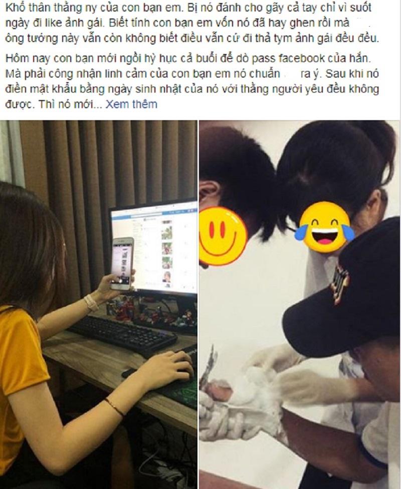 Bài đăng được chia sẻ trên mạng xã hội