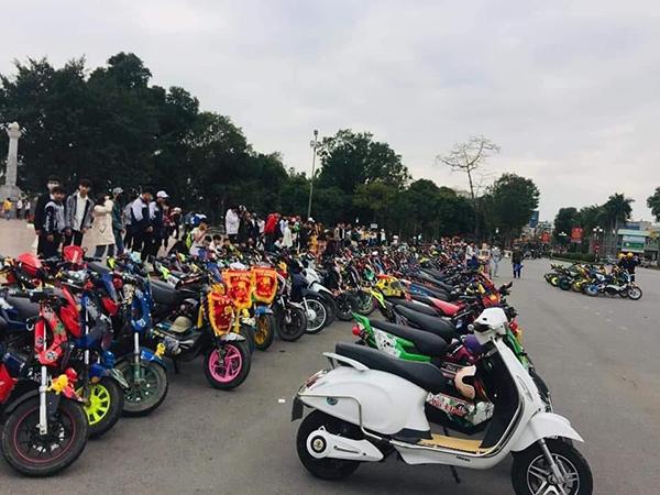 Xác minh xử lý nhóm học sinh Nam Định'off' hội xe điện trong thời gian nghỉ học tránh dịch Covid-19 2