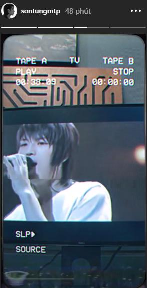 Sơn Tùng M-TP chia sẻ lại clip của DBSK từ thời còn 5 thành viên và hé lộ đó là cả một bầu trời tuổi thơ của mình.