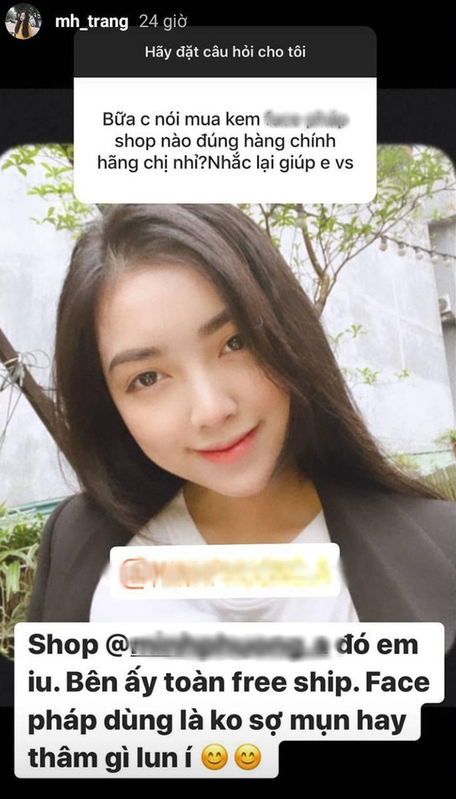 Bạn gái Đức Chinh bị tố PR tràn lan, dùng chung công thức tự hỏi, tự trả lời.