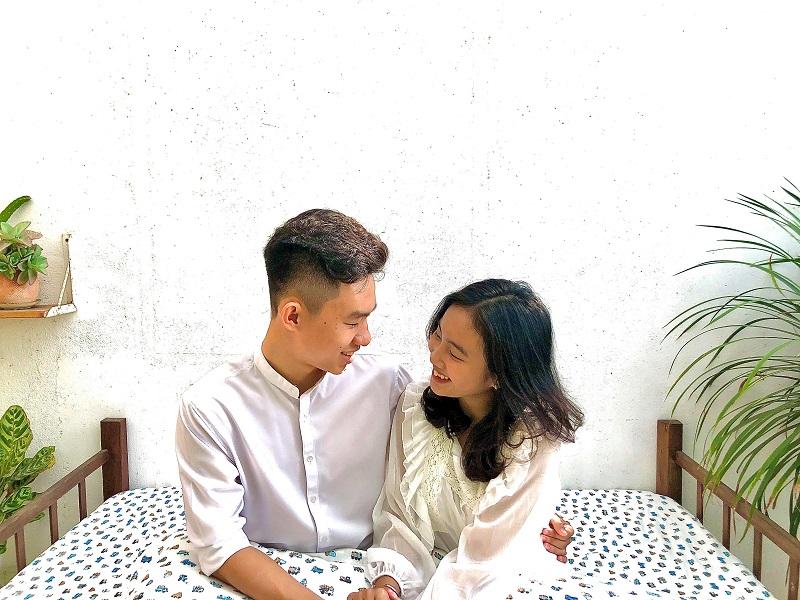 Lý Thư và Quang Vinh hiện đang học lớp 12 tại một trường cấp 3 tỉnh Tiền Giang.