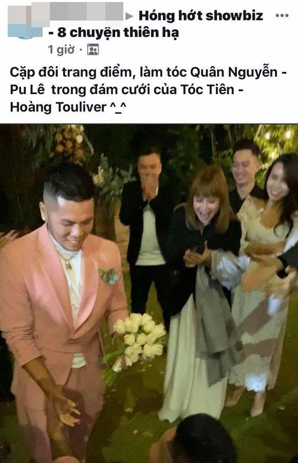 Bất ngờ những cặp đôi được se duyên trong đám cưới Tóc Tiên - Hoàng Touliver 7
