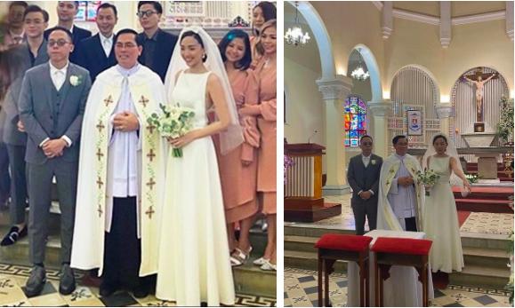 Ảnh cưới tại Nhà thờ Con Gà (Đà Lạt) của Tóc Tiên vàHoàng Touliver.