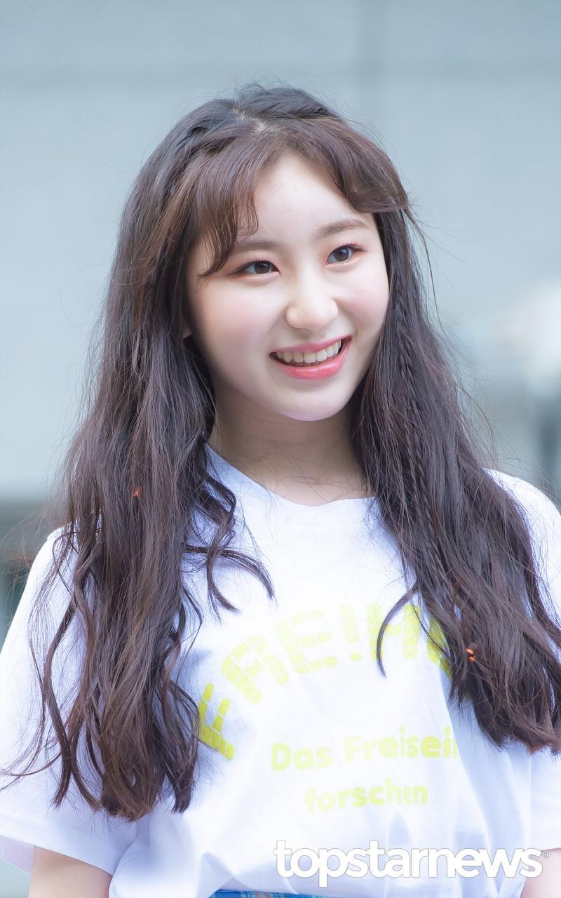 Chaeyeon khi còn tham gia Produce 48.