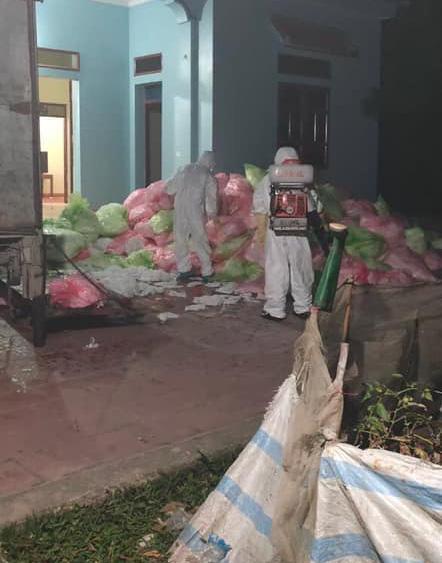 Hơn 600kg khẩu trang đã qua sử dụng bị phát hiệntại Sóc Sơn (Hà Nội)