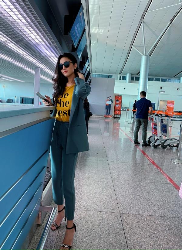 Hoài Sa chính thức lên đường sang Thái Lan thi Hoa hậu Chuyển giới Quốc tế 2020 4