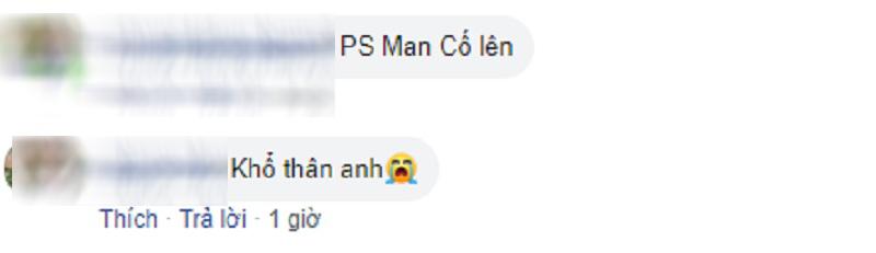 Các fan ủng hộ PS Man