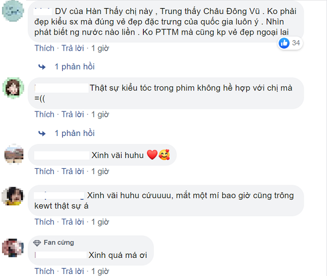 Cư dân mạng Việt Nam cũng dành nhiều lời khen cho Da Mi