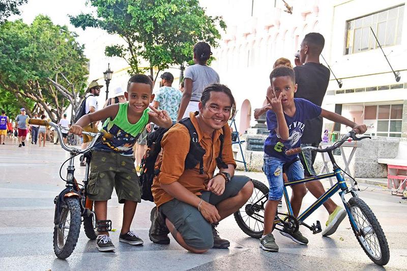 Đăng Khoa tại Cuba tháng 7/2019.