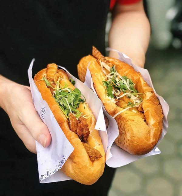 Bánh mì Việt Nam đa dạng về nguyên liệu và hương vị.