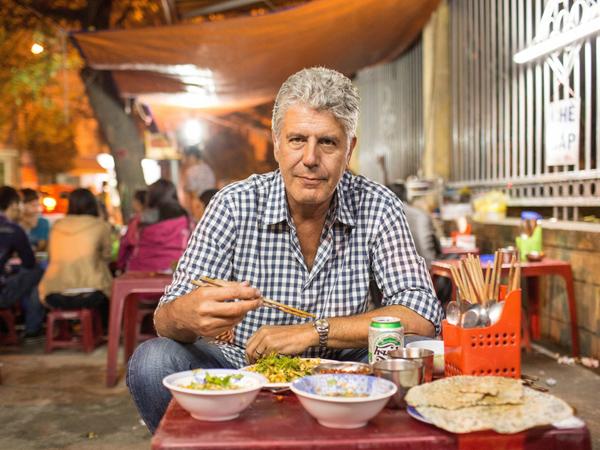 Đầu bếp nổi tiếngAnthony Bourdain - người có công lớn trong việc đưa bánh mì Việt đến với bạn bè quốc tế.