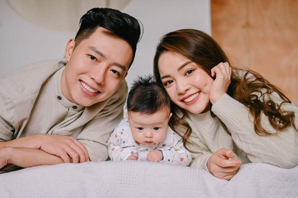 Tổ ấm hạnh phúc của hot mom Trinh Phạm.