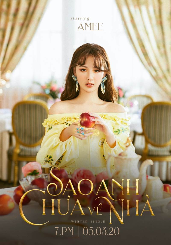'Công chúa' Amee lộ diện, sẵn sàng 'phá đảo' Vpop với màn comeback hoành tráng 0