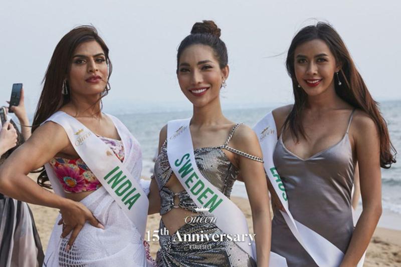 Người đẹp gốc Việt đại diện cho Thụy Điển cũng gây được nhiều sự chú ý và lọt vào Top 13 ở phần thi tài năng.