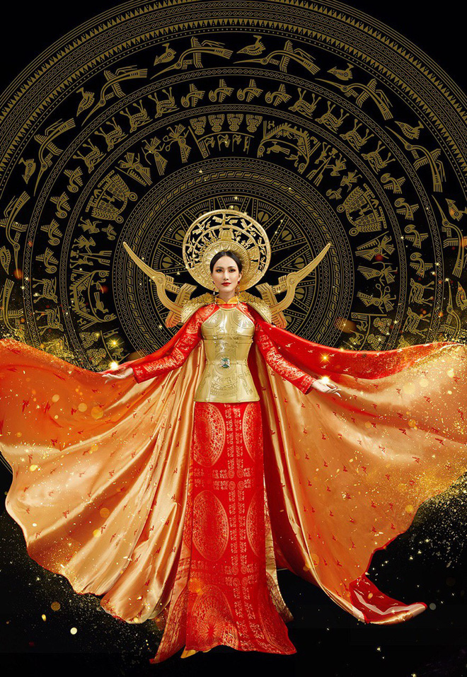 Hoài Sa đầy khí chất trong trang phục áo dài dân tộc