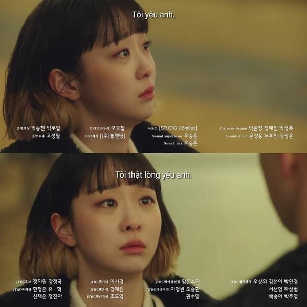 Lời tỏ tình của Jo Yi Seo dành cho Park Sae Ro Yi.