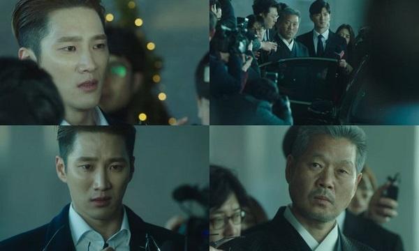Jang Geun Won bật khóc như đứa trẻ trước khuôn mặt lạnh lùng của bố