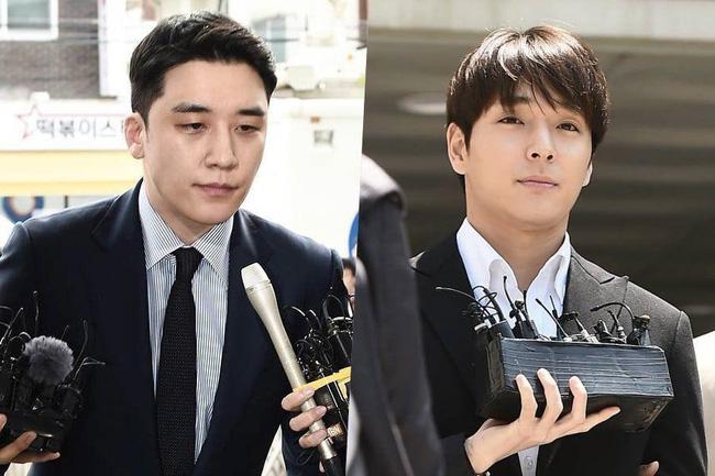 Seungri và Choi Jong Hoon.