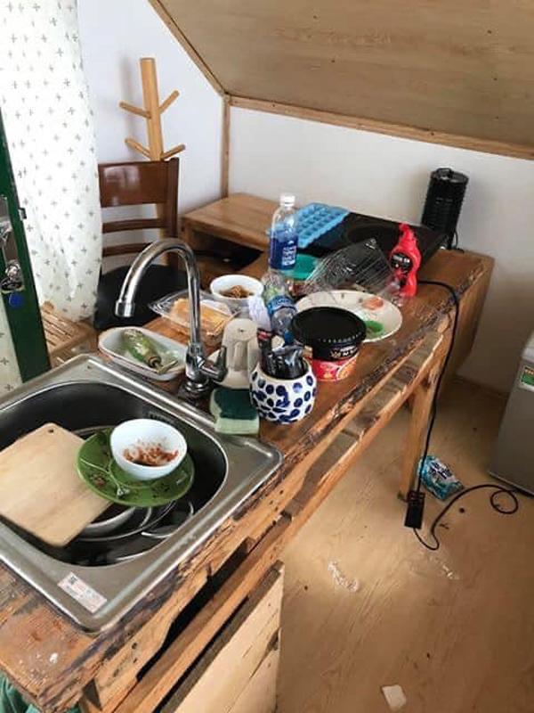 Phẫn nộ nhóm du khách thiếu ý thức, để lại 'bãi chiến trường' ngập toàn rác sau khi thuê homestay Đà Lạt 5
